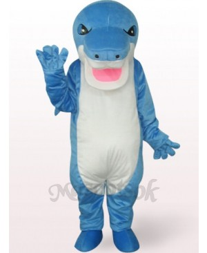 Blue Shark Plush Mascot Costume