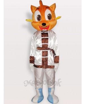 Cat Short Plush Adult Mascot Costume