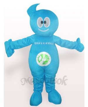 Cleaner Doll Plush Adult Mascot Costume