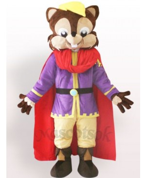 Cool Squirrel Plush Adult Mascot Costume