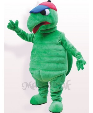 Green Tortoise Plush Adult Mascot Funny Costume