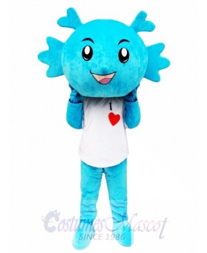 Blue Dragon Mascot Costumes