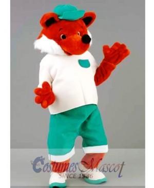 Cool Fox Mascot Costume