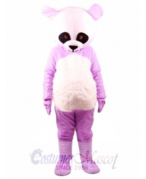 Chinese Purpe Giant Panda Mascot Costume