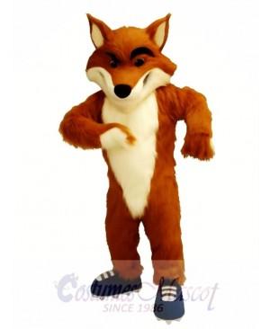 Fox Mascot Costume Custom Fancy Costume