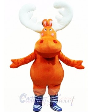 New Big Moose Deer Mascot Costume Animal