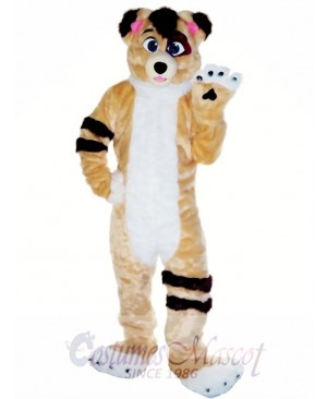 Friendly Fursuit Dog Mascot Costume