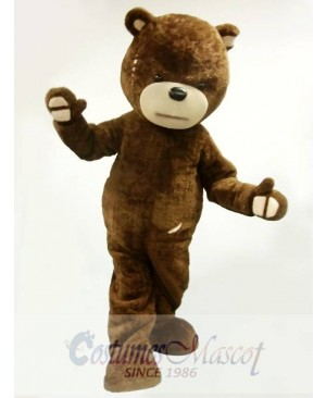 Naughty Bear Mascot Costume
