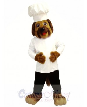 Chef Dog Mascot Costume