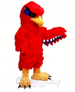 New Red Hawk Mascot Costume