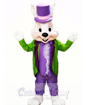 Easter Bunny Mascot Costume Adult Costume