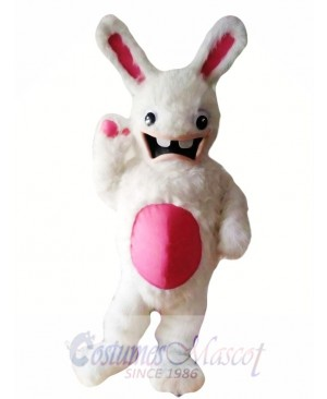 Crazy Easter Bunny Mascot Costume Adult Costume