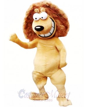 Happy Lion Mascot Costumes