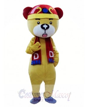 Chinese Bear Mascot Costume