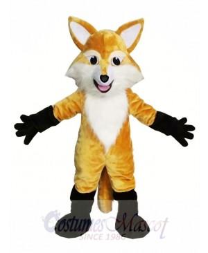 Brown Fox Mascot Costume Animal Costume for Adult