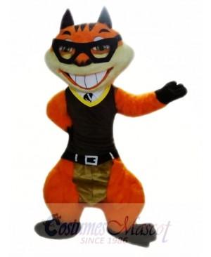 Orange Squirrel Mascot Costumes