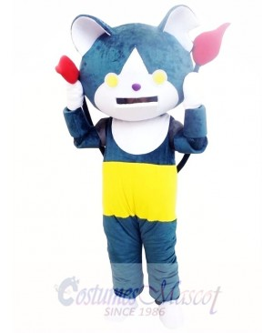 Youkai Watch Jibanyan Blue Cat Mascot Costume
