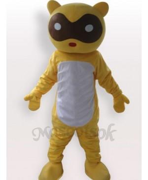 Raccoon Short Plush Adult Mascot Funny Costume