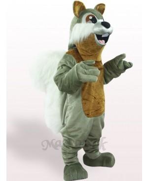 Squirrel Plush Adult Mascot Costume