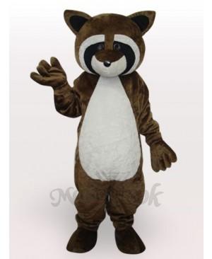 Strange Lynx Cat Short Plush Adult Mascot Costume
