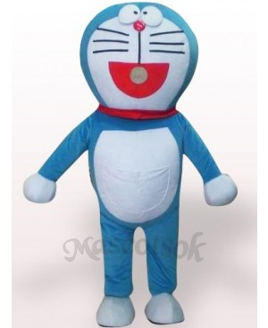 Vivid Doraemon Plush Adult Mascot Costume