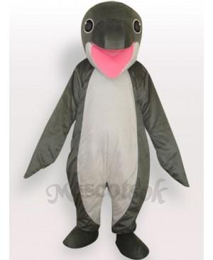 Whale Short Plush Adult Mascot Costume