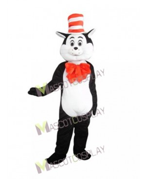 Cat in the Hat Mascot Costume