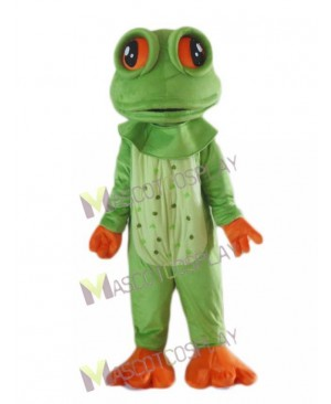 Lovely Big Eyed Frog Mascot Costume