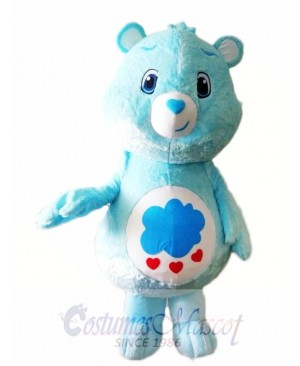 My Little Love Blue Care Bear Mascot Costume