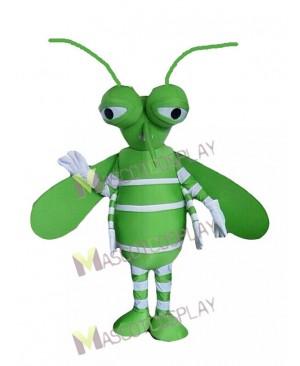 Green Mosquito Mascot Costume Insect Mascot Costume