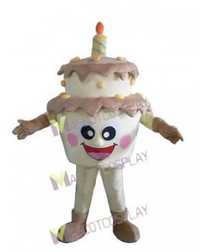 Two-Layer Birthday Cake Mascot Costume