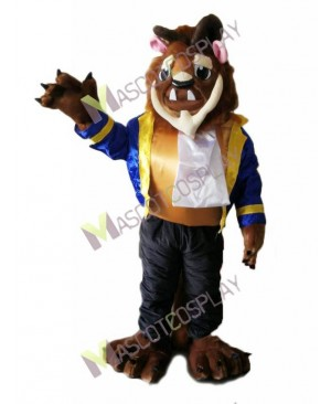 Beauty and the Beast Adam Mascot Costume