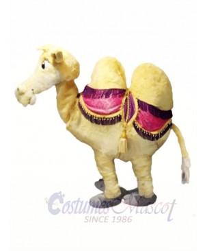 Brown 2 Person Camel Mascot Costume
