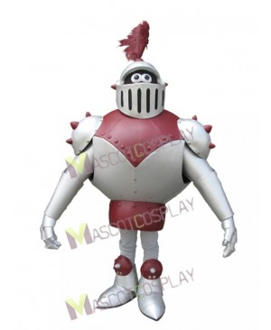 High Quality Adult Knight Alive Mascot Costume
