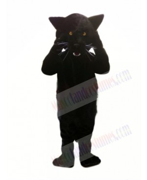 Cheap Black Panther Mascot Costumes