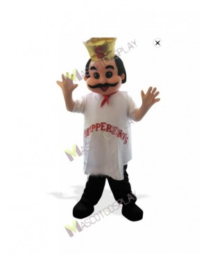 High Quality Adult Restaurant Promotion Italian Chef Cook Mascot Costume