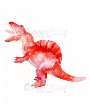 Adults Pink Spinosaurus Halloween Party Dinosaur Inflatable Costumes