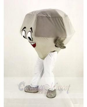 Silver Diamond Mascot Costume Cartoon
