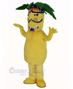 Palm Tree Plant Mascot Costume