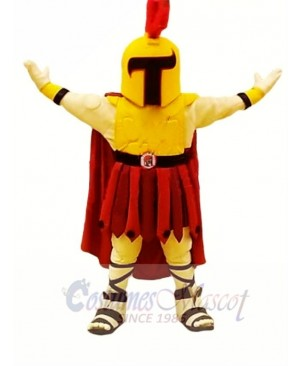 College Spartan Mascot Costume