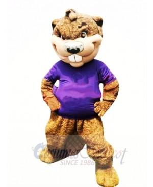 Sport College Beaver Mascot Costume