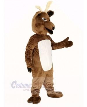 Sleepy Deer Mascot Costume Animal