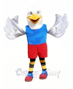 Superb College Eagle Mascot Costume