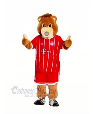 Bayern Munich Bear with Red Clothes Mascot Costumes Animal