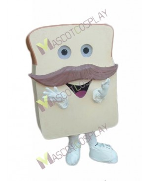 High Quality Adult Custom Made Yummy Slice Bread Mascot Costume