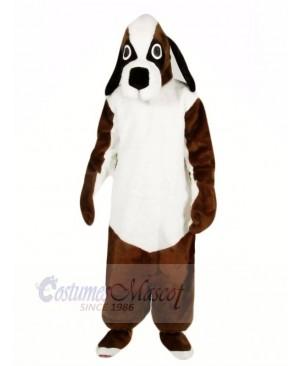 Brown and White Beagle Dog Mascot Costumes Animal