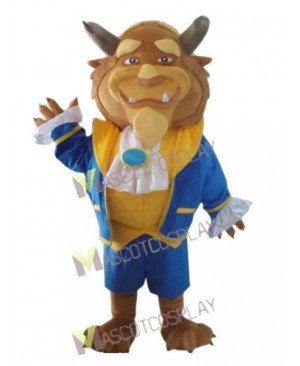 Beast Adam from Beauty and the Beast Mascot Costume