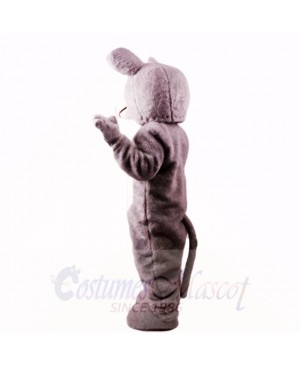 Grey Mouse Lightweight with Blue Eyes Mascot Costumes Cartoon