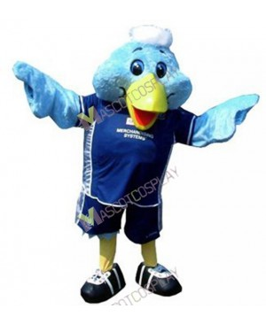 High Quality Adult Sport Blue Bird Mascot Costume