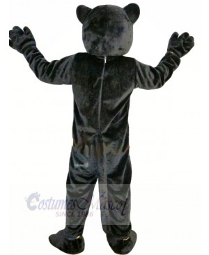 Black Panther with Long Tail Mascot Costumes Animal